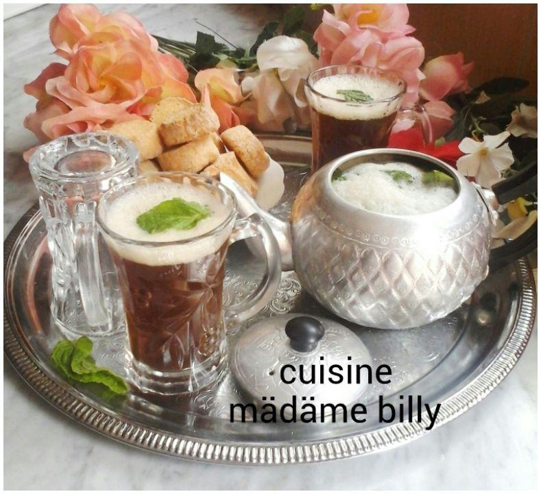 Thé vert à la menthe  شاي الاخضر بالنعناع