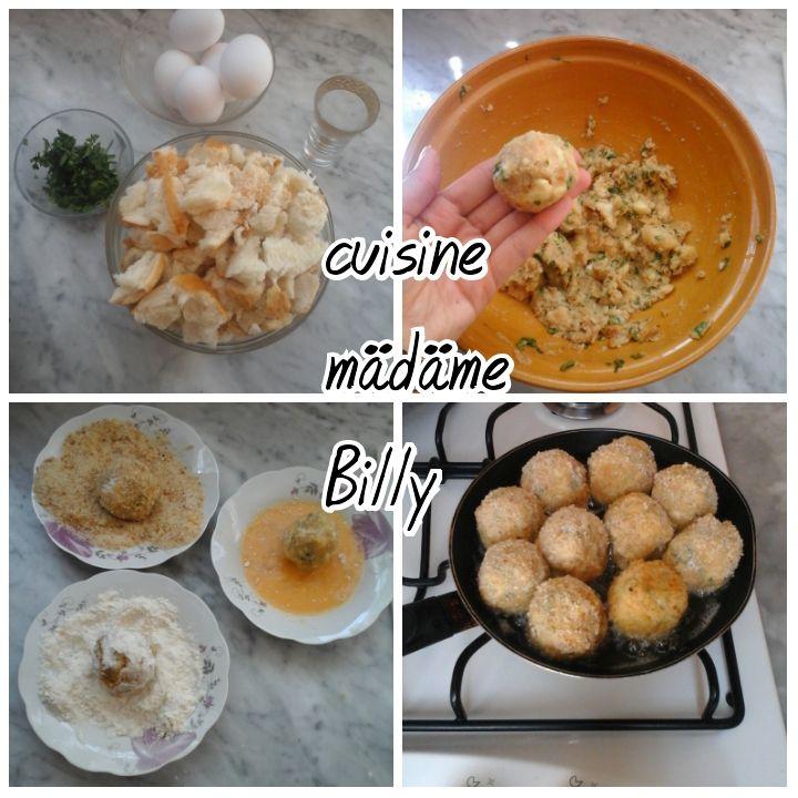Boulettes de pain كرات مقلية بالخبز