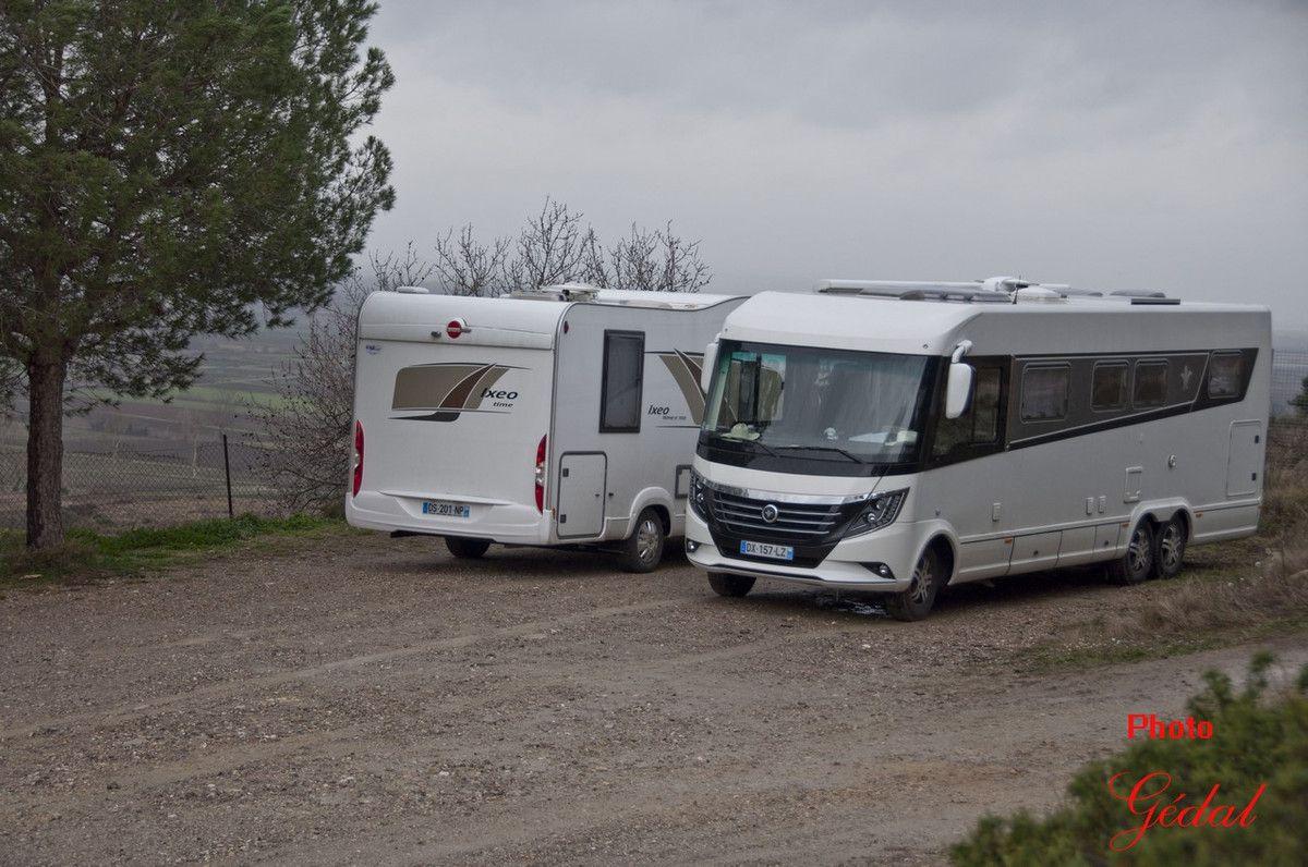 Sur  la  route en  camping-car : 17ème sortie (4/15)