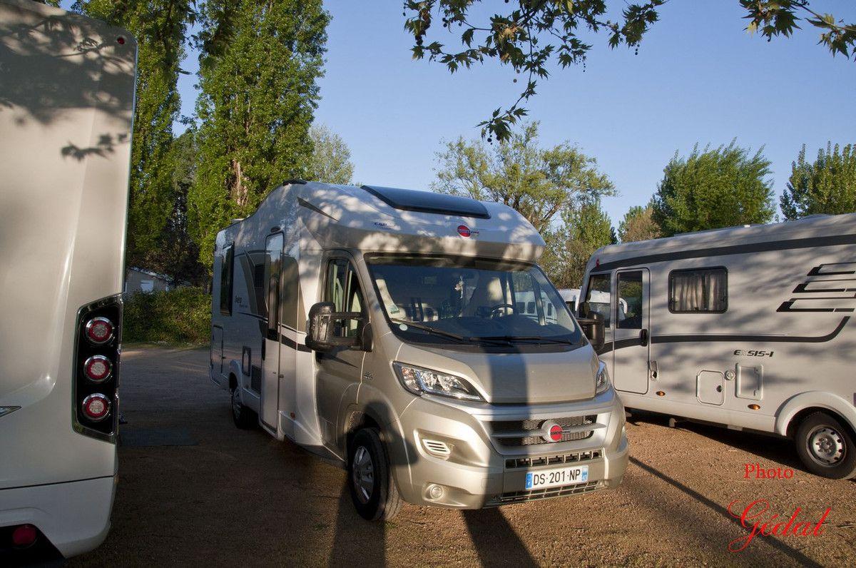 Sur  la  route en  camping-car : 20ème sortie (4/4)