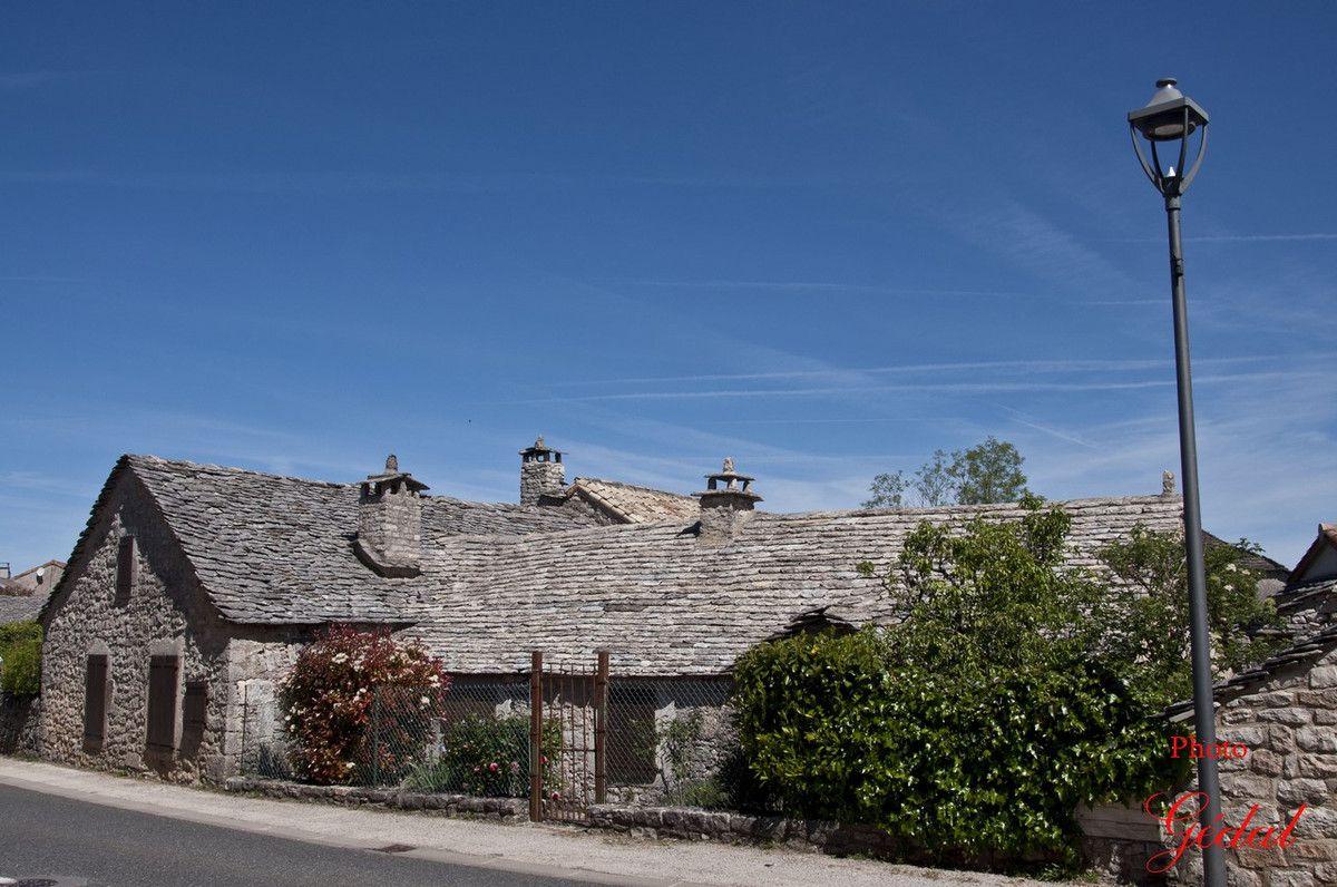De vieilles maisons.
