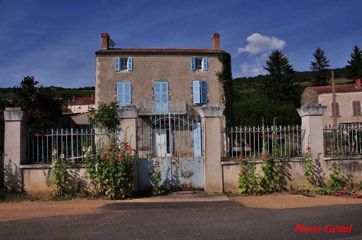 "Une maison ""bourgeoise""."