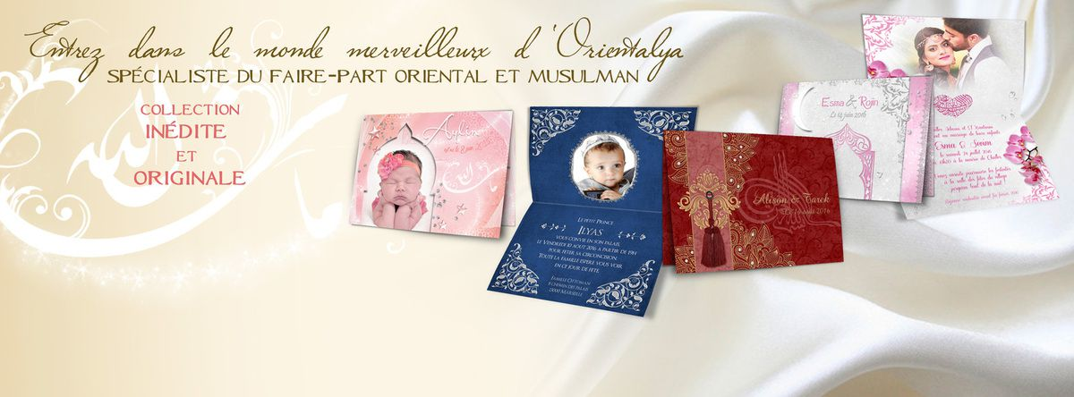 Orientalya Faire-part Le Blog