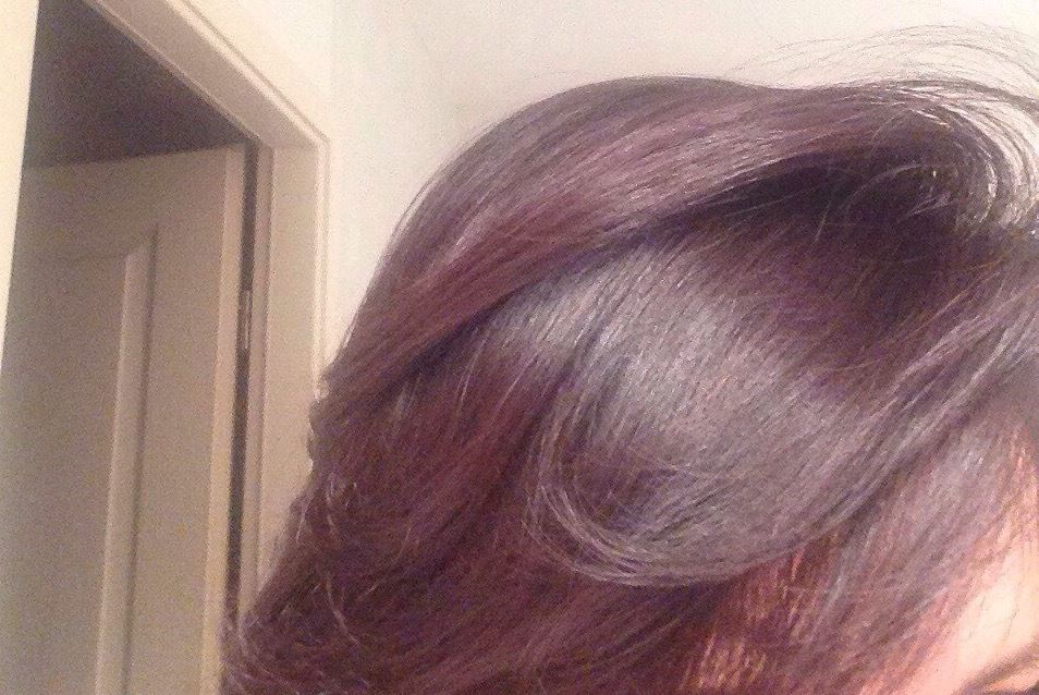Coloration cheveux henne auburn