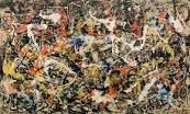 MONET, Meules/POLLOCK, Untitled/POLLOCK au travail