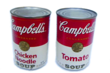 WARHOL, Soupes Campbell, Marilyn, Ten Lizes, Accident