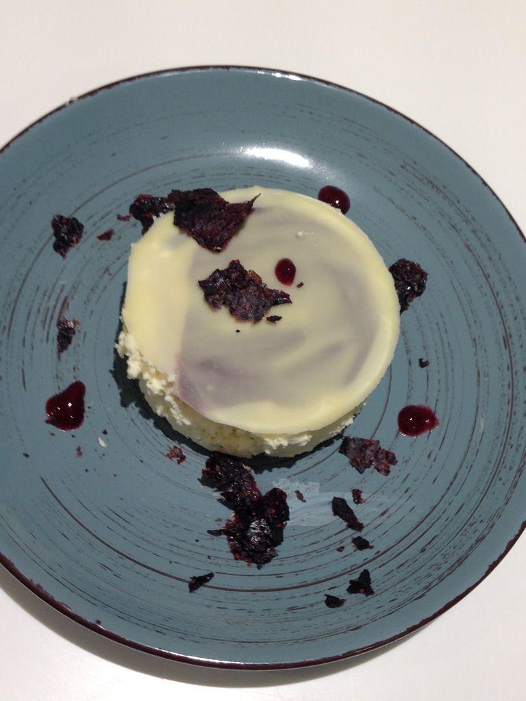 Mousse chocolat blanc topinambours d'A. Benallal