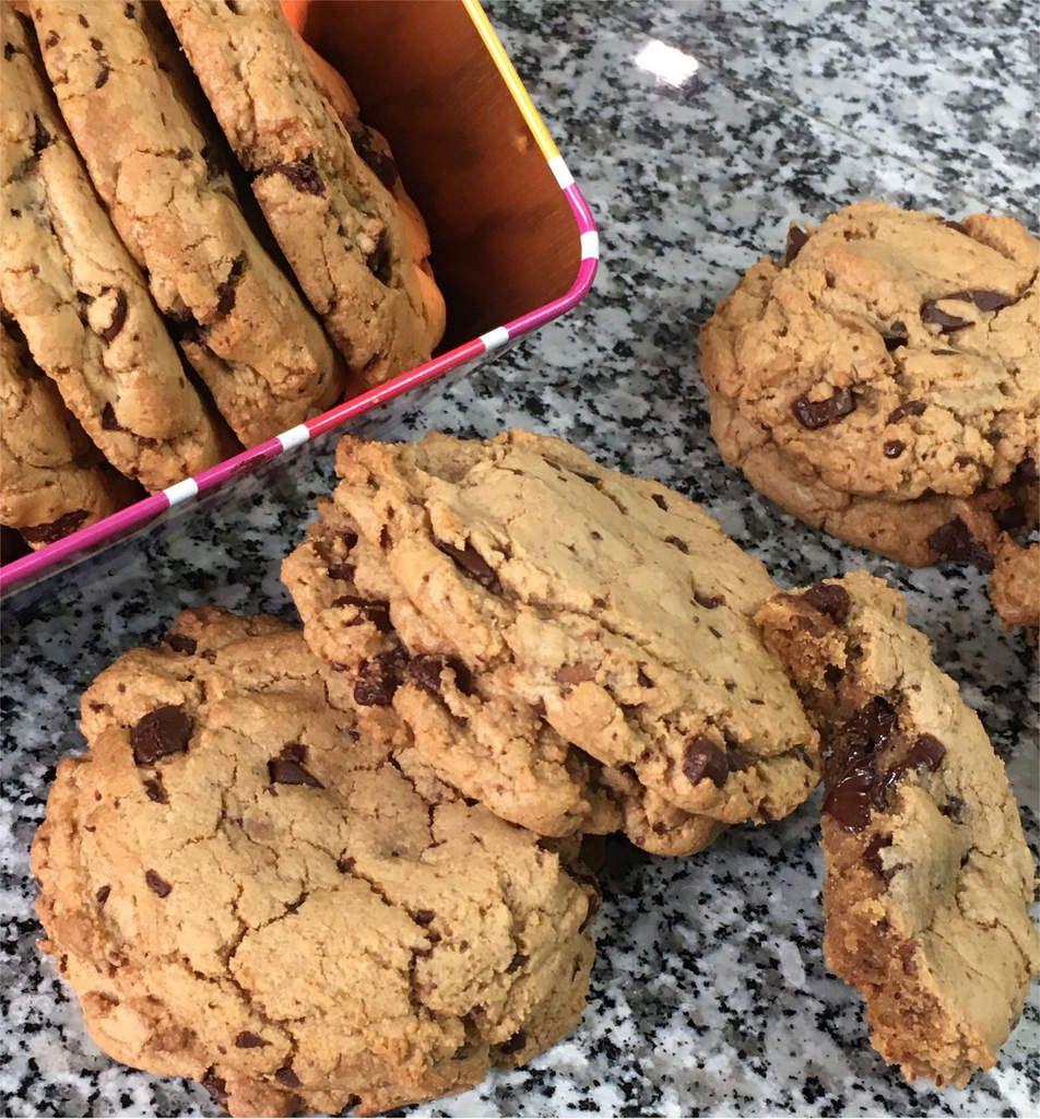"""Cookies """"Croustis-fondants"""" de L. Jeannin"""