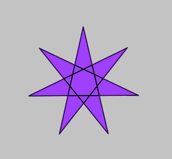 l'étoile à 7 branches