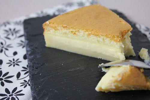 #Gâteaumagique au chocolat blanc