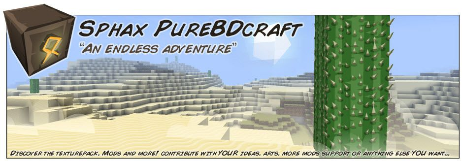 Comment telecharger sphax purebdcraft !