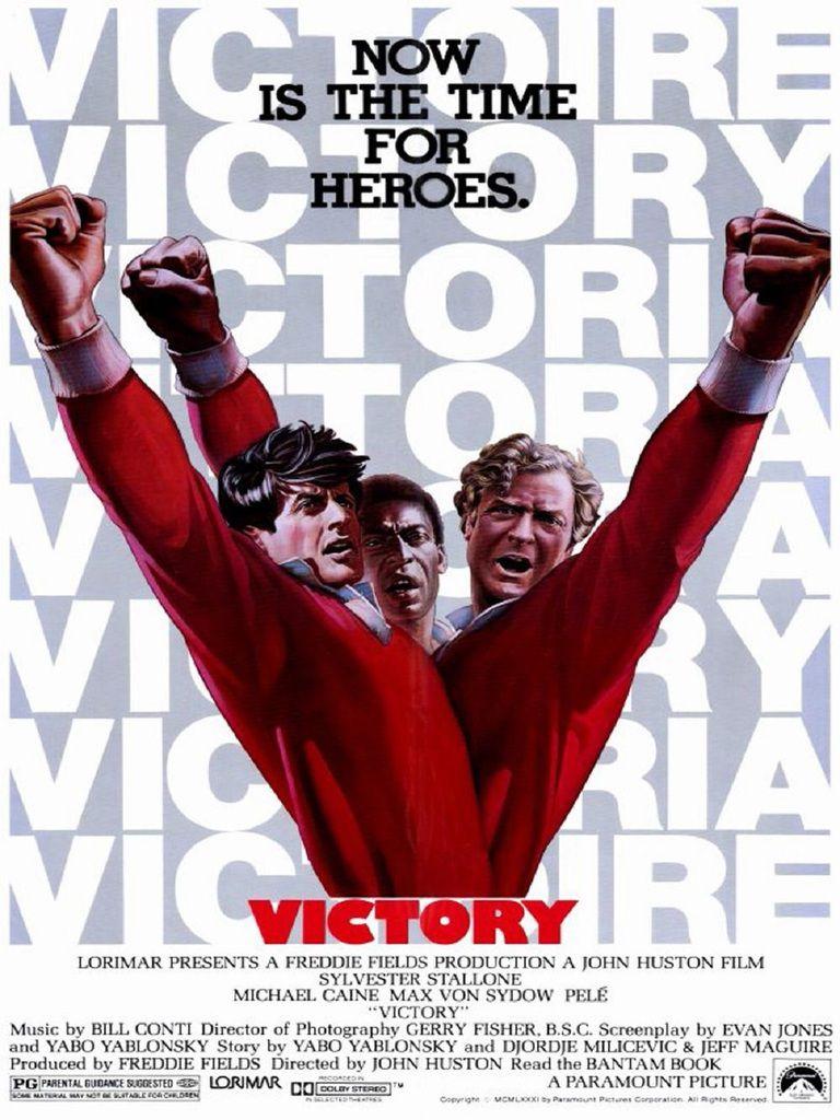 """Affiche du film """" à nous, la victoire"""""""