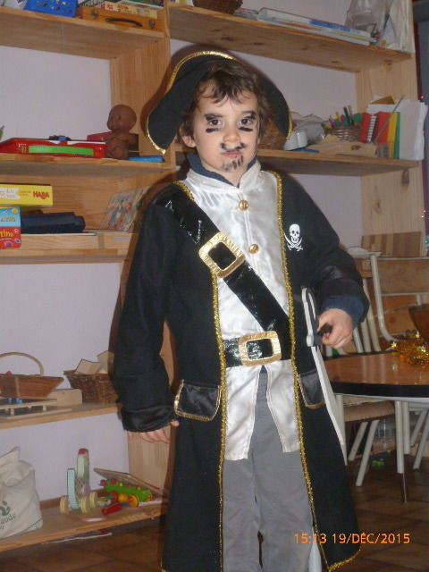 Corentin le pirate!