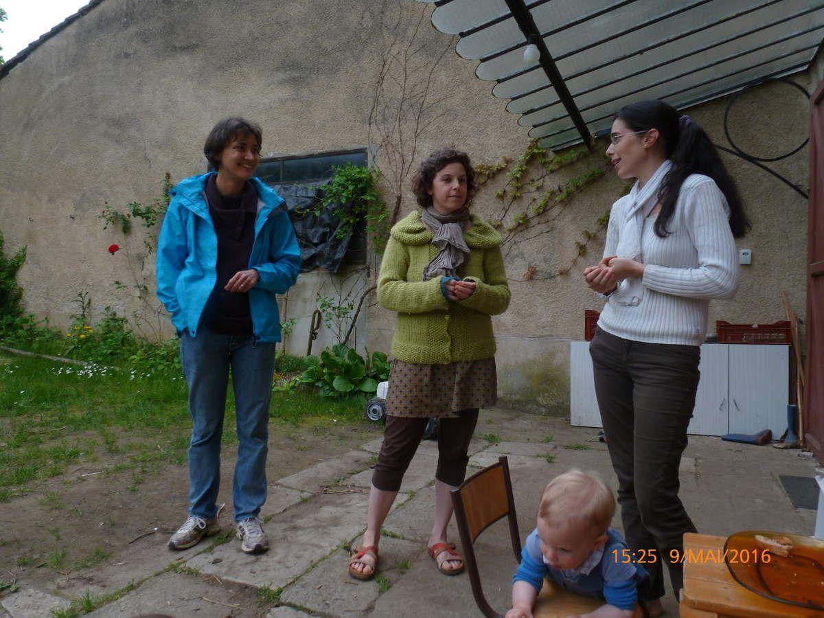 Catherine, Isa et Noémie