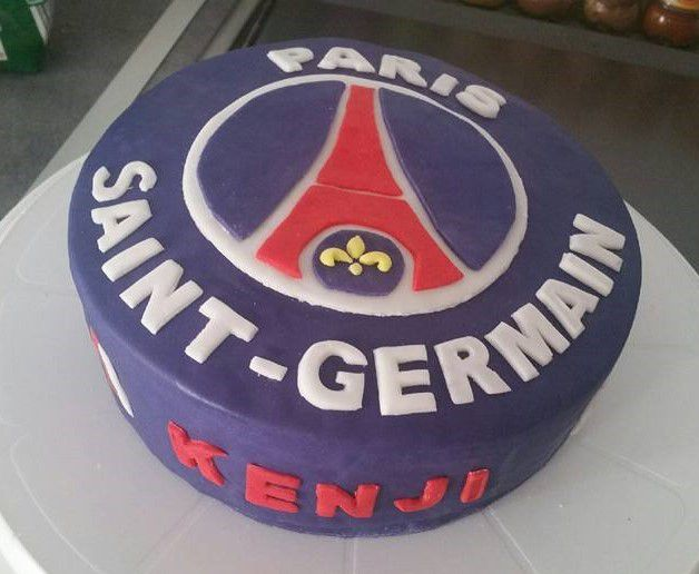 decoration gateau psg
