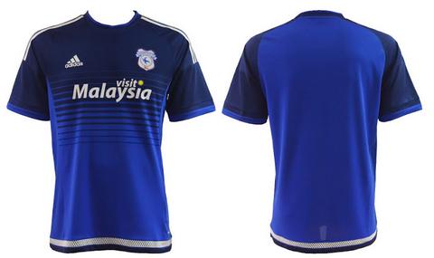 camisetas de futbol 2015 2016 Cardiff City