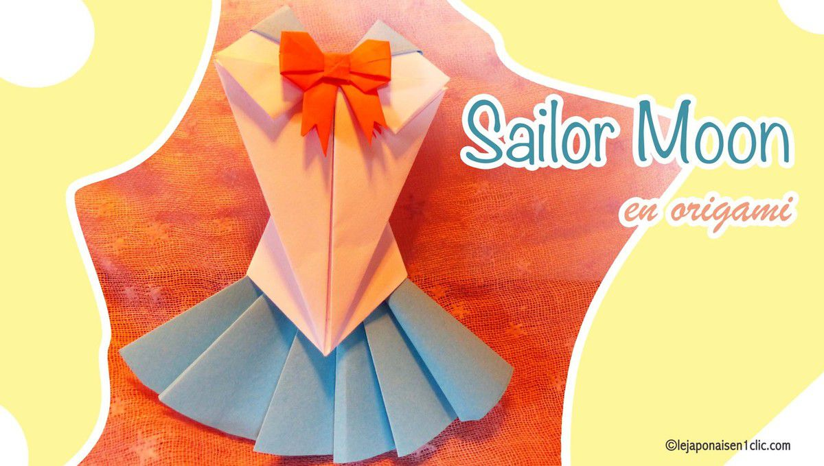 La robe de Sailor Moon version Origami