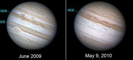Jupiter perd Stripe (2010)
