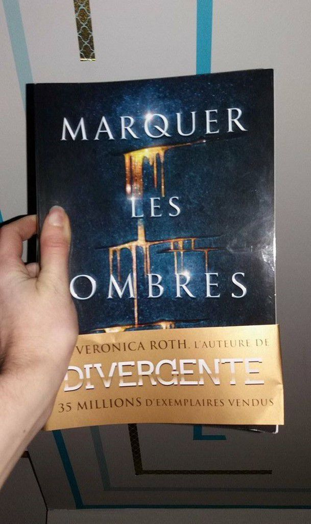 Marquer les ombres, Veronica Roth - Attention coup de coeur !