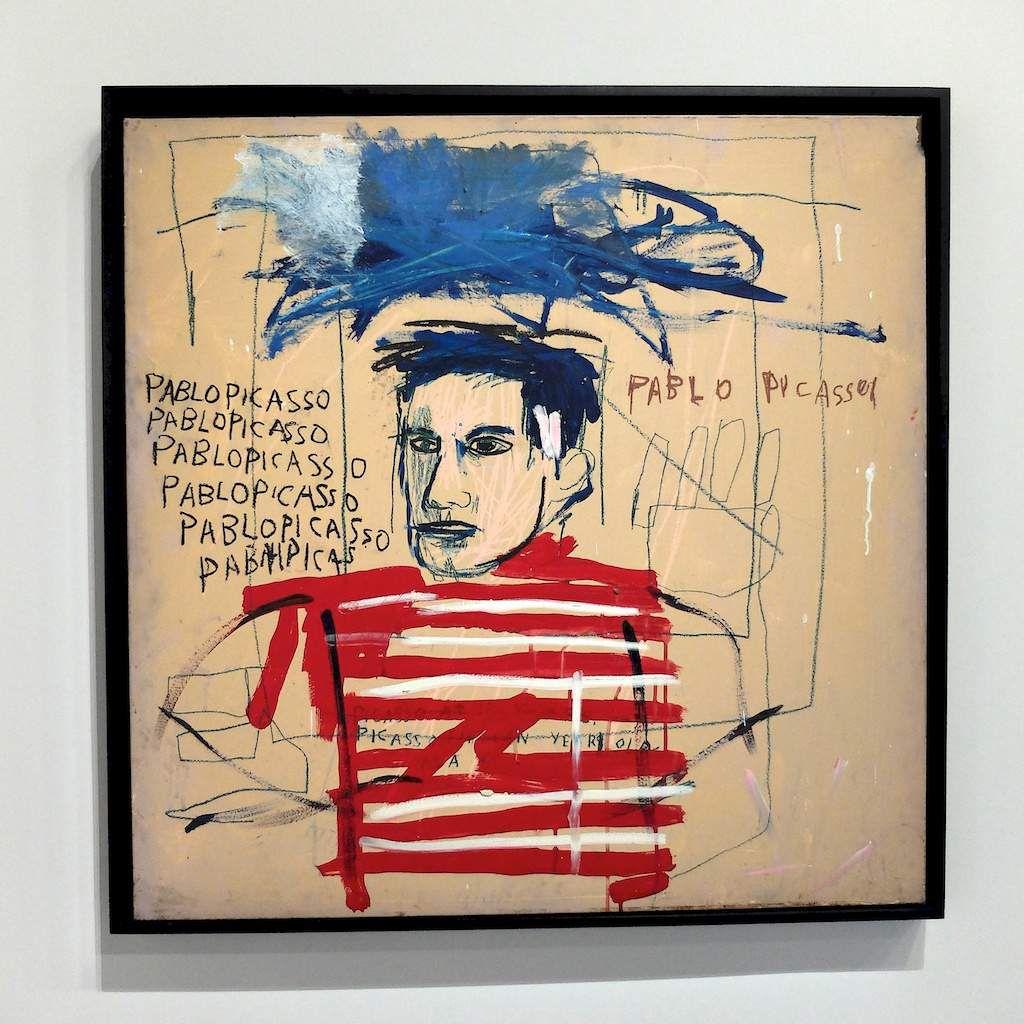 ©JMBasquiat-courtesy Picasso.mania  au grand palais