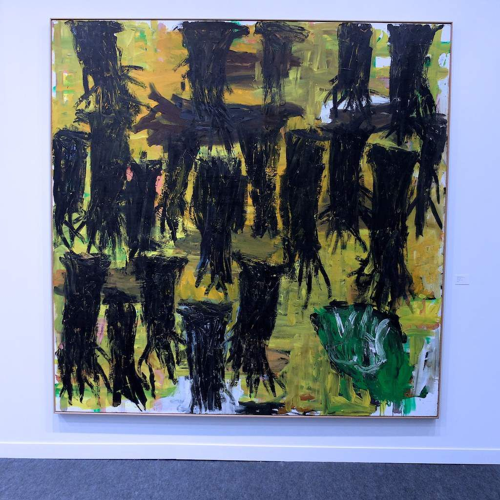 ©Baselitz. vernissage Fiac 2015. Paris.