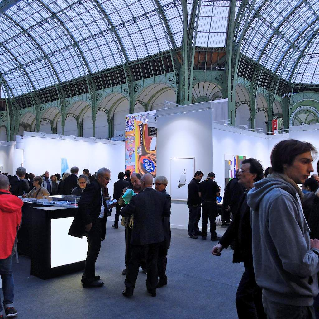vernissage Fiac 2015. Paris.