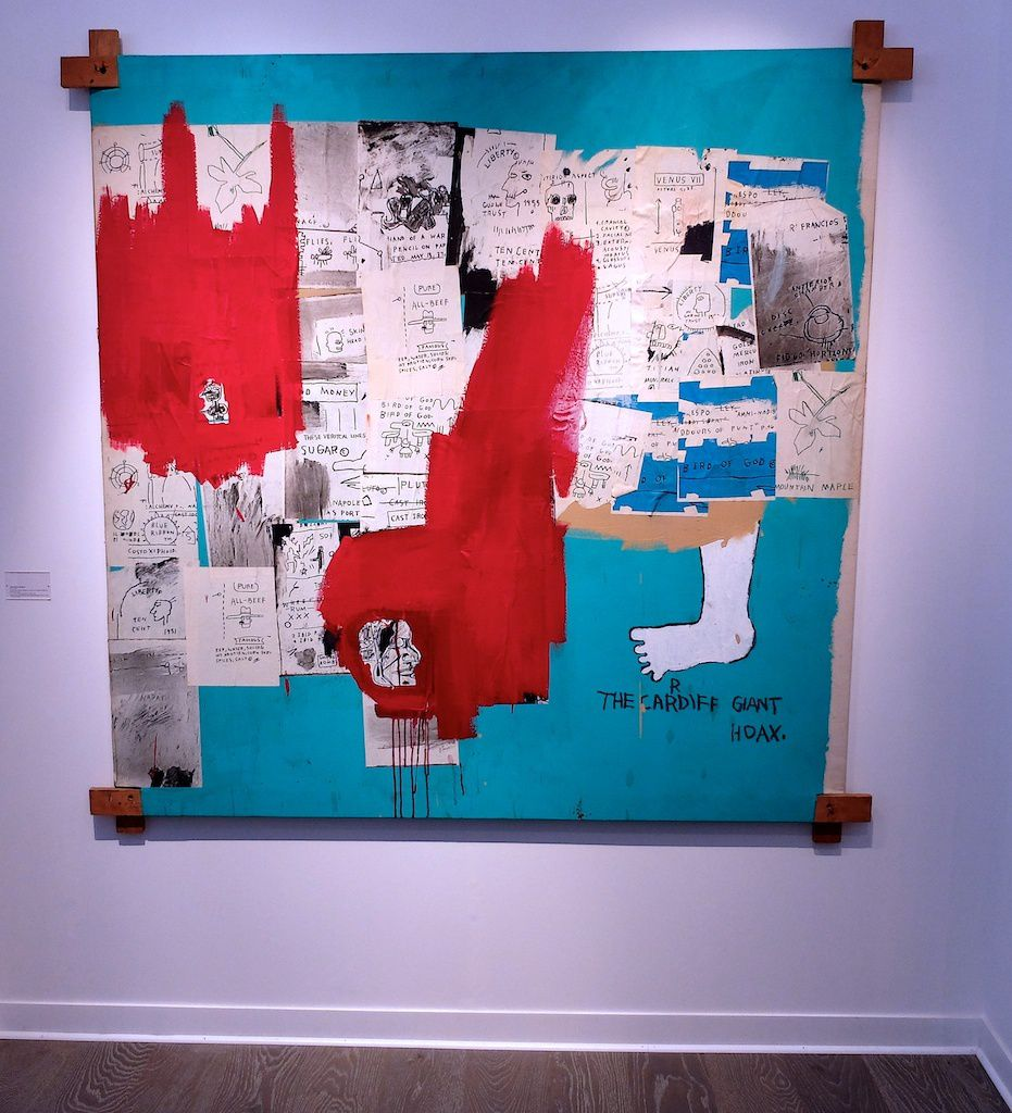 ©JM.Basquiat. vernissage Fiac 2015. Paris.