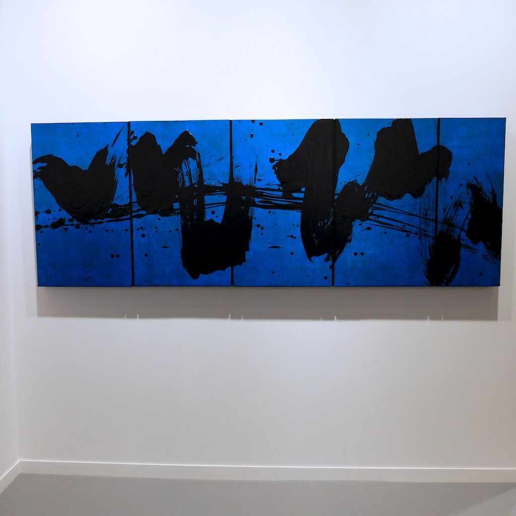 ©Fabienne Verdier. vernissage Fiac 2015. Paris.