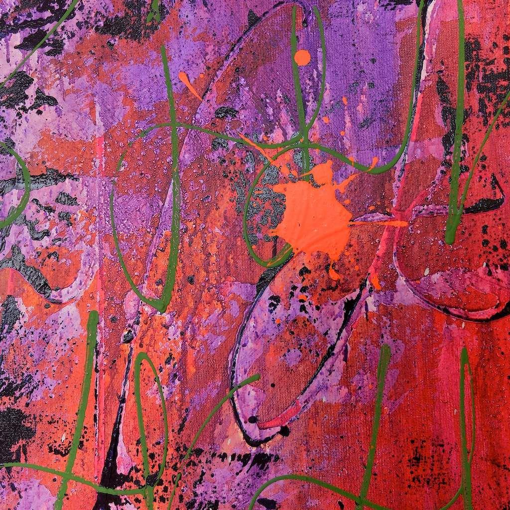 Détails-De l'aube au crépuscule-150x150cms-chris claisse.