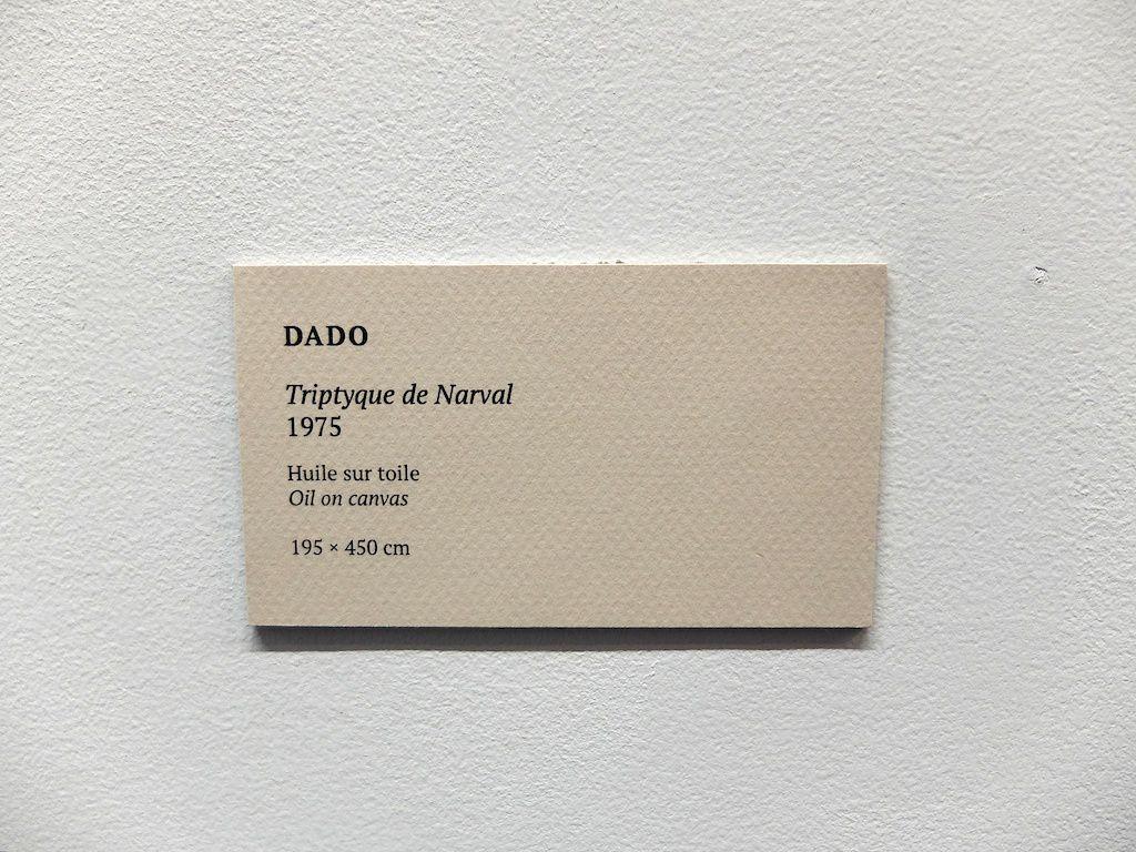 ©Dado-courtesy galerie Jeanne Bucher Jaeger-