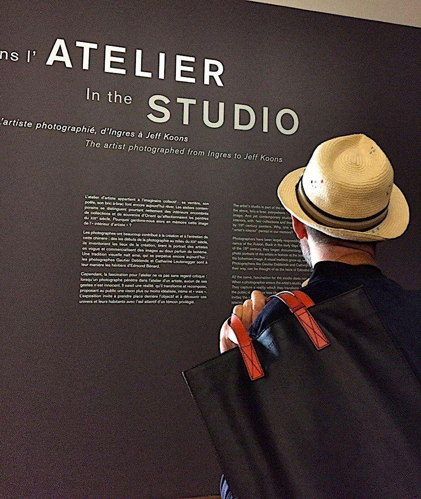 L'artiste dans l'atelier-Petit palais-Paris