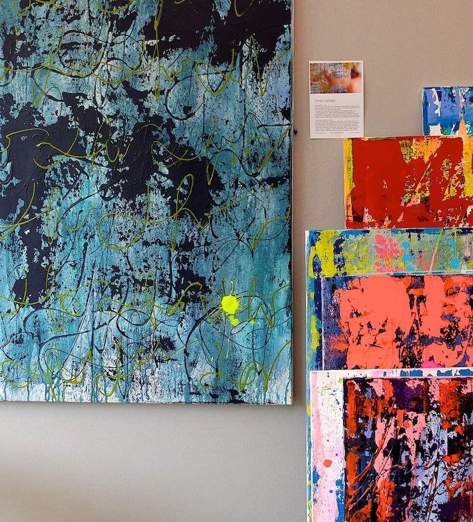 Installation à art contemporain!