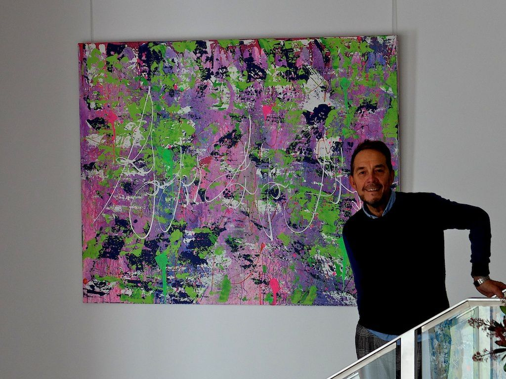 chris claisse-expo Maison Blanche-art abstrait.