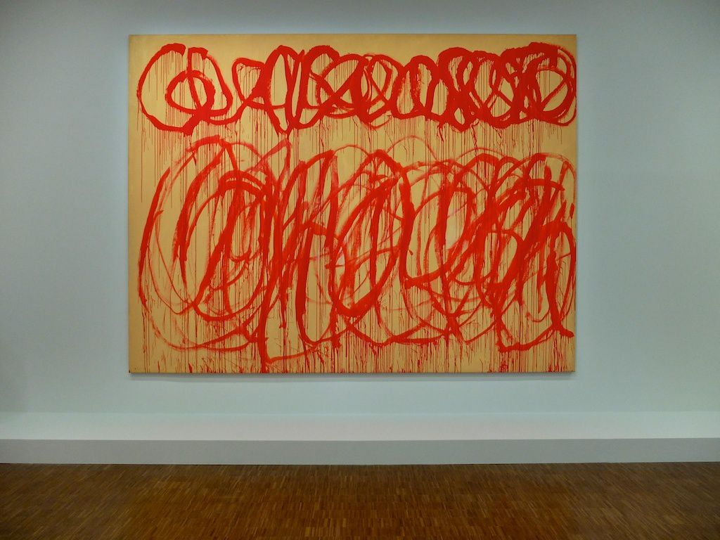 ©CyTwombly-courtesy centre Pompidou.