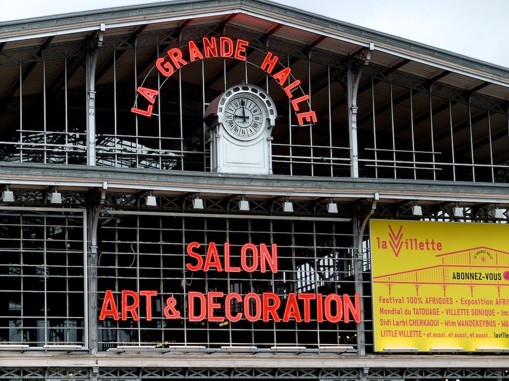 Salon art et deco paris paris art passion for Salon a porte de la villette