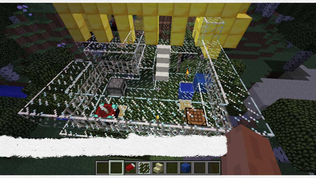 Mes créations Minecraft...