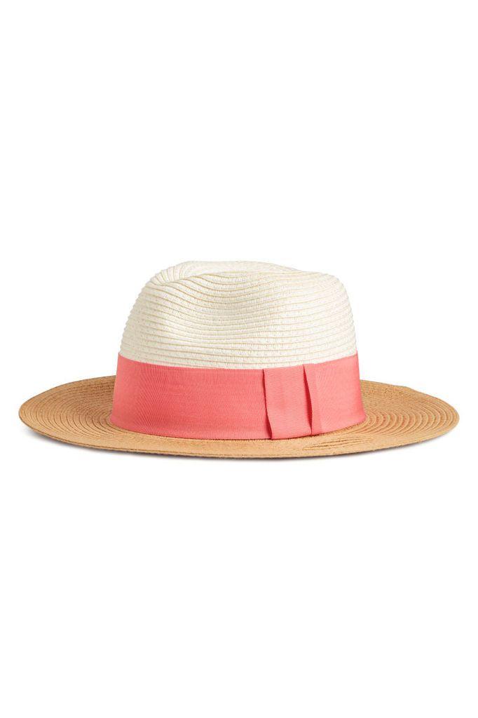 Chapeau de Paille, 9.99€ sur le site H&M