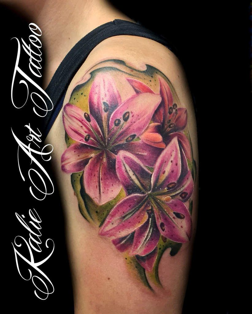 Flower Tattoo Power Planeteink