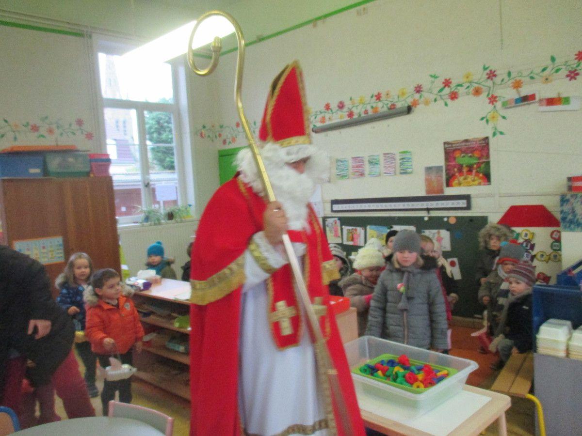 Saint Martin à l'école