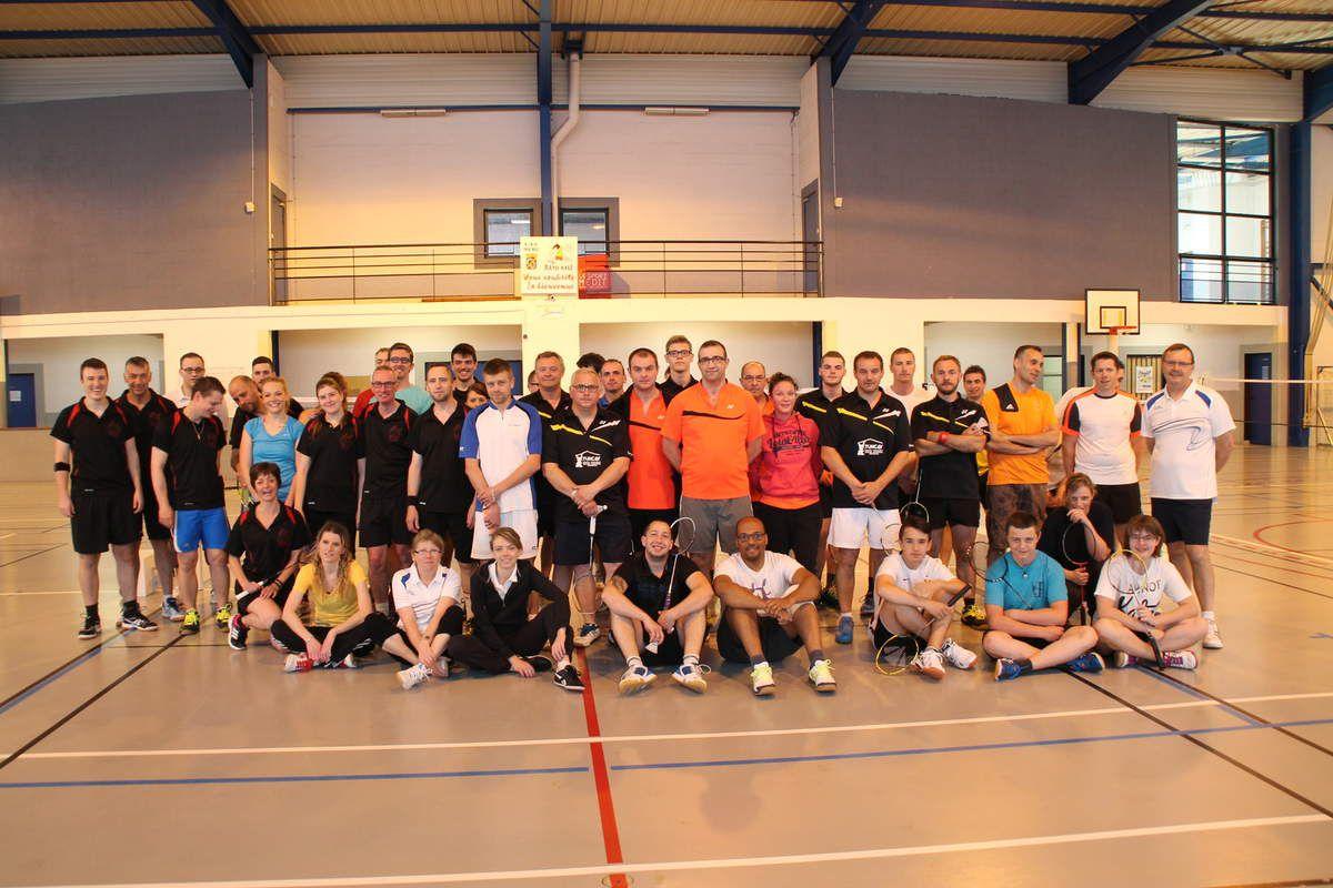 7ème Open de Badminton à Andeville
