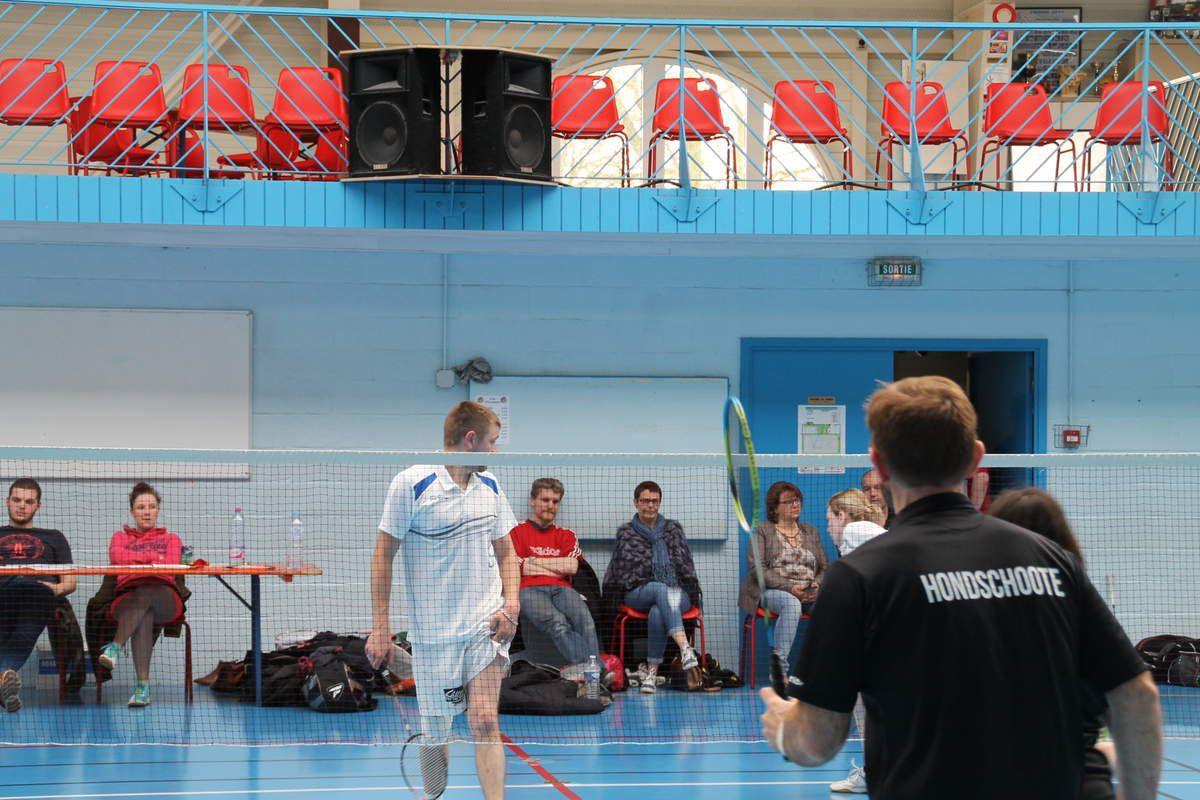 25eme Open de badminton à Hondschoote