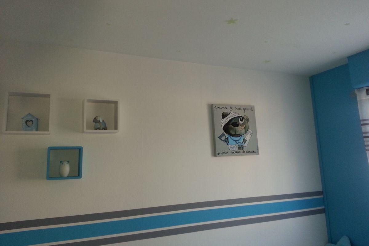 Ambiance pour une chambre d'enfant   d brouille de maman