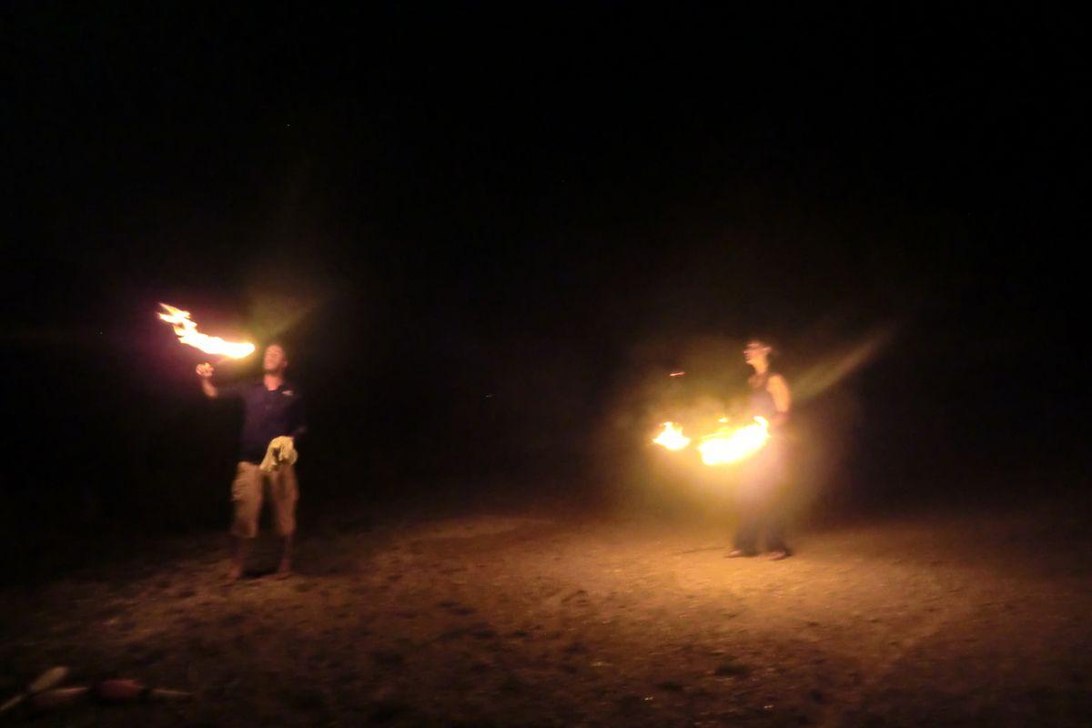 session feu ( c'était en bosnie)