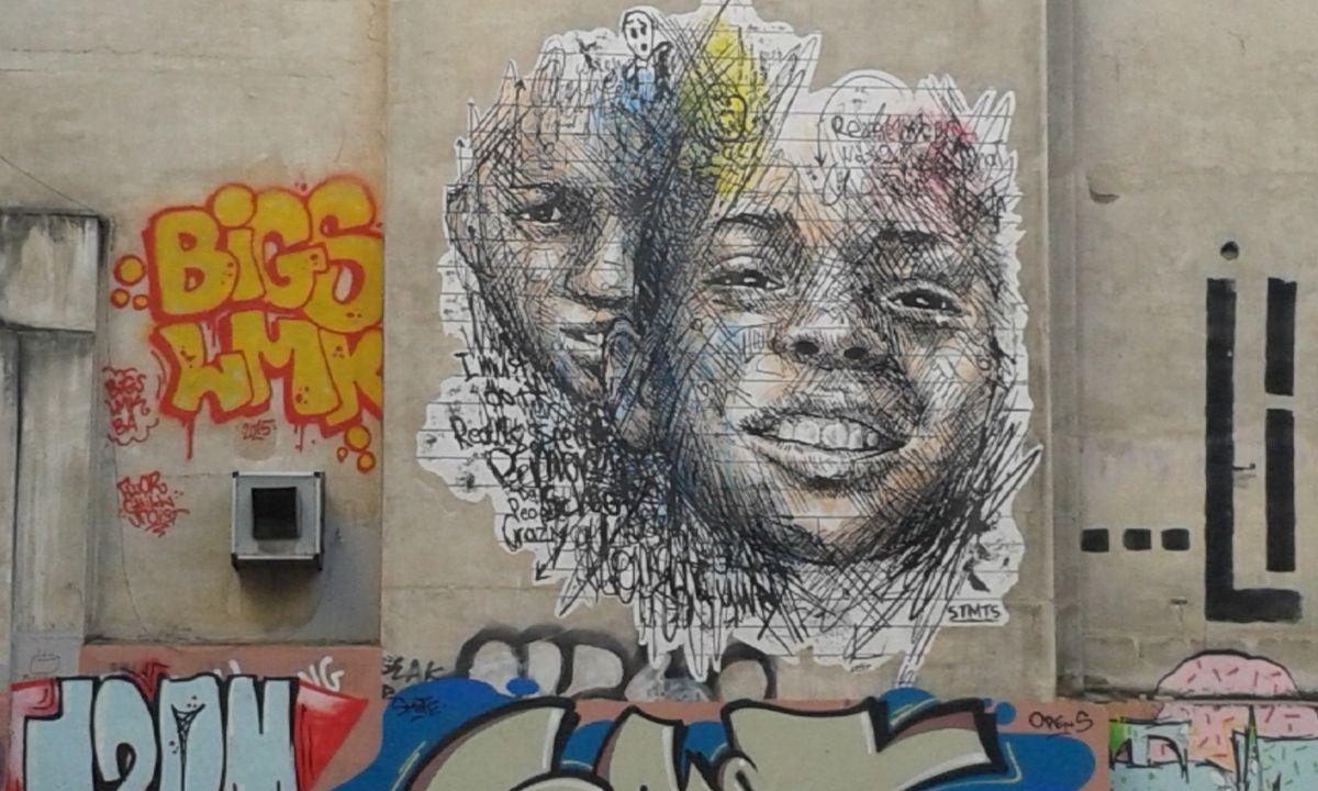 le street art présent de partout dans athènes