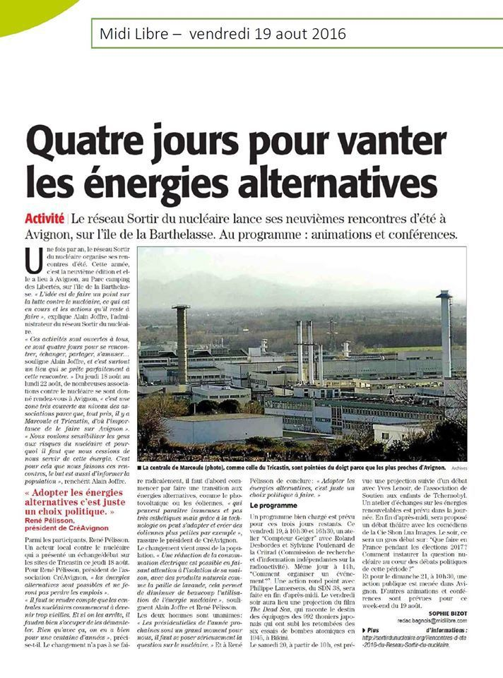 rencontres nucleaire