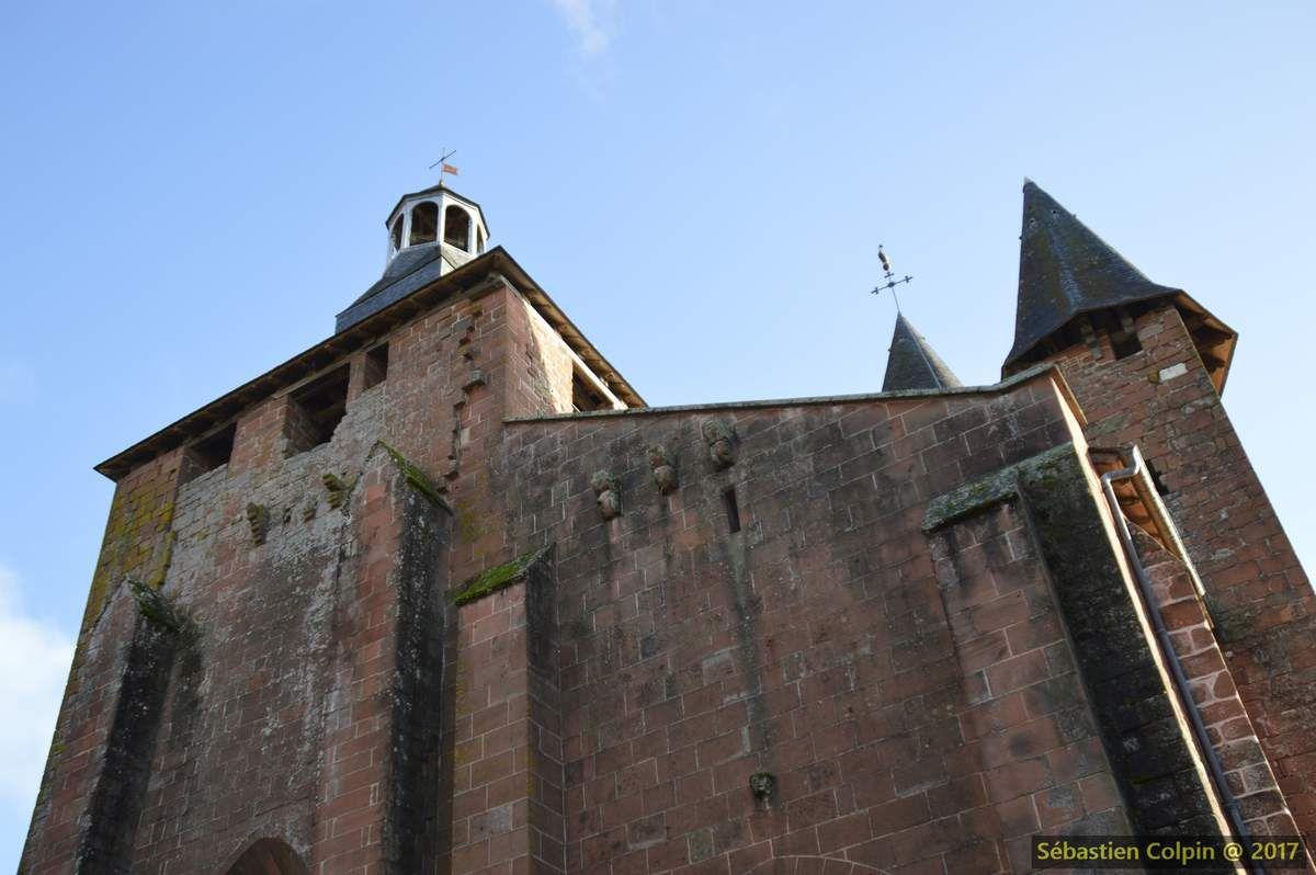 Collonges la rouge, le rubis de la Corrèze