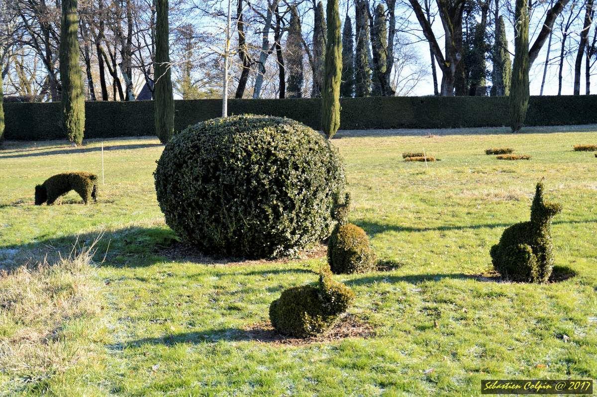 Les jardins du manoir d'Eyrignac à Salignac-Eyvigues