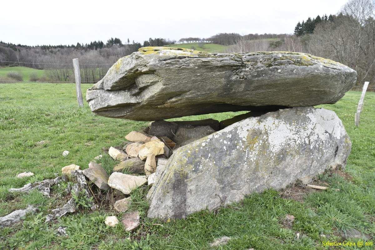 La cabane de la Fée, dolmen de Brugeilles