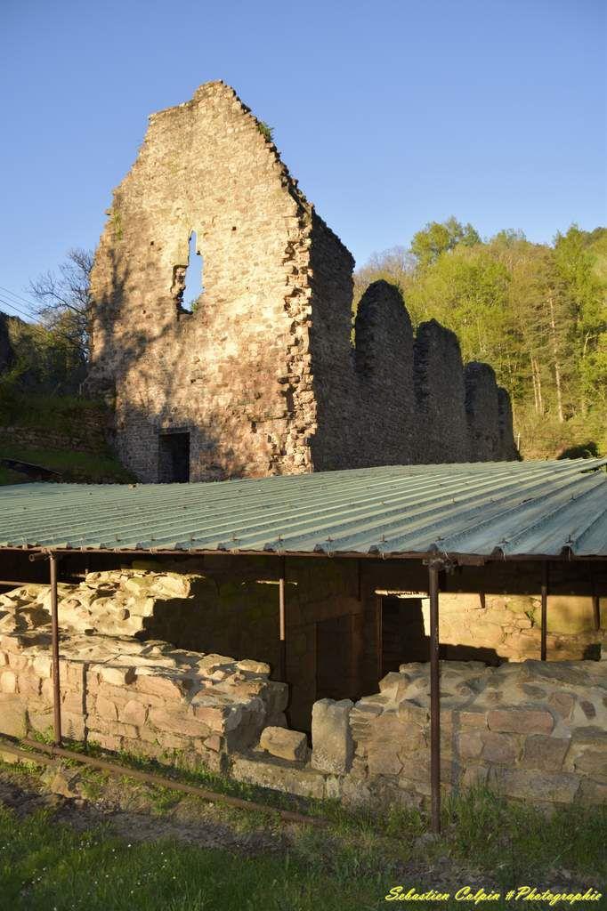 Vestiges du monastère féminin du Coiroux à Aubazine