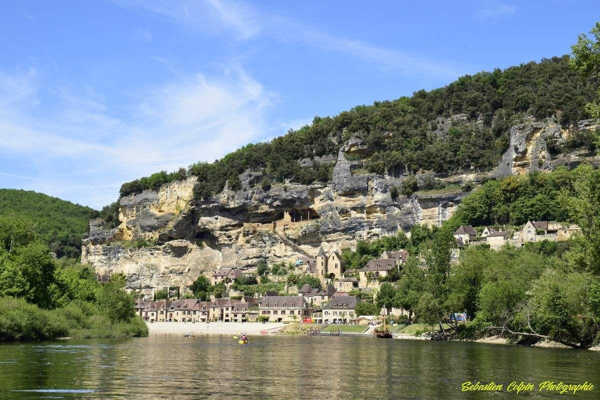La Roque-Gageac, balade en gabarre sur la dordogne